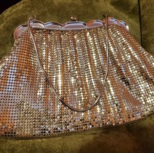 Rare vintage Whiting and Davis sequined coin purse